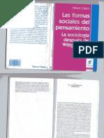 Albert Ogien Las formas sociales del pensamiento