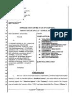 Case BC586119 / Dov Charney vs. Standard General, American Apparel, Allan Mayer, David Danzinger, Robert Greene, Marvin Ingelman, William Mauer, John Lutrell
