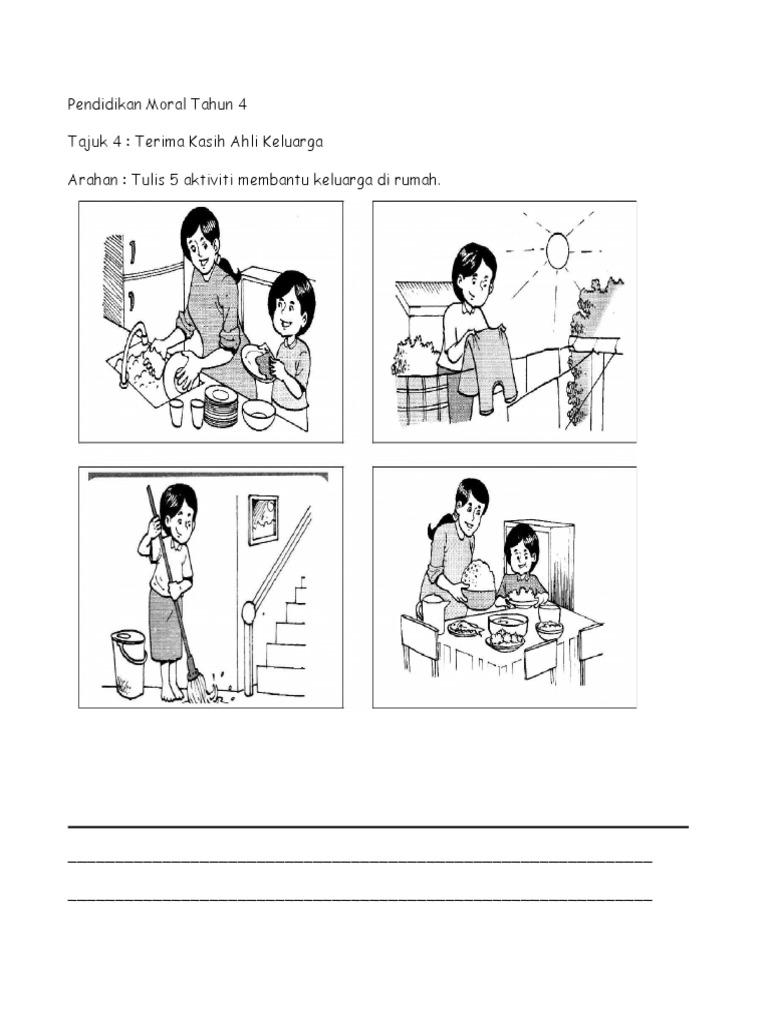 Lembaran Pendidikan Moral Tahun 4 1