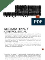 Derecho Penal Subjetivo