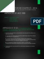 Artigos 51 a 100 Plano Diretor Chapecó 2014