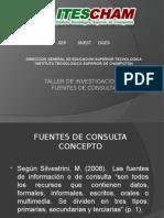 taller de investigacion II Fuentes de Consulta