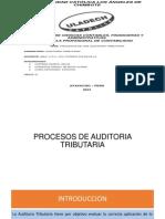 PROCEDIMIENTOS DE AUDITORIA TRIBUTARA