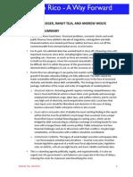 Krueger et al. Report (IMF former Economists) on Puerto Rico