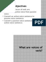 Passive Voice 3