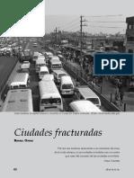 Ciudades Fracturadas. Rafael Ojeda