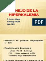 Manejo de Hiperkalemia