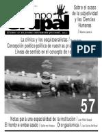Revista Campo Grupal Saidon y otros