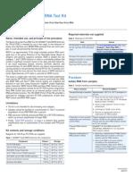 Bovine Virus Diarrhea RNA Test Kit