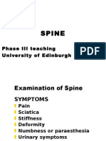 Student Spinal Ortho