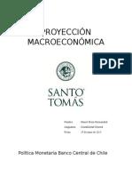 PROYECCIÓN MACROECONÓMICA CHILENA
