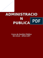 Administracion Publica - Upt