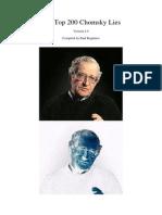 200 Chomsky Lies