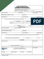 Sss Form MAT1