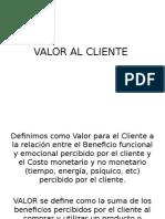 Valor Al Cliente