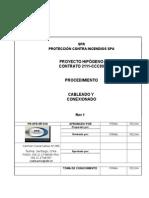 PR OPE MT 016 Cableado y Conexionado