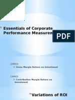 Essentials of Corporate Performance Measurement Part 2