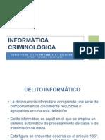 INFORMÁTICA CRIMINOLÓGICA