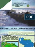 Geologia Venezuela Cordillera de La Costa
