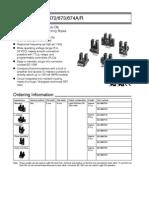 Omron EE SX674 Datasheet