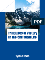 Principles of Victory in the Christian Life