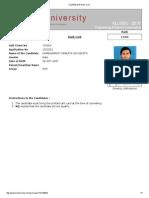 Klueee 2015 Rank Card