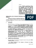 Denuncia Fiscal Franco Camarena Mercado 12-06-2015