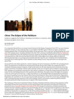China_ the Eclipse of the Politburo _ the Diplomat