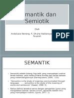 Semantic and Semiotic Slide