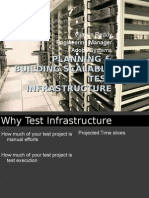 Planning and Building Scalable Test Infrastructure