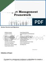 1 Project Management Framework REM
