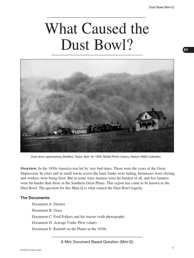 dustbowl dust bowl great plains