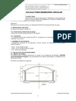 Memoria Descriptiva - Calculo Estructural Reservorio 65m3