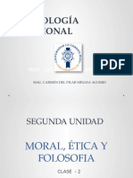 Moral, Ética y Folosofia