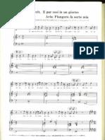 Piangero, La Sorte Mia, Handel