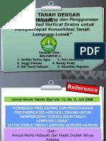 Prefabricated Vertical Drain (PVD)