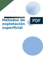Metodos de Explotacion de Mineria Superficial (1)