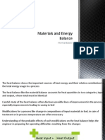 Materials and Energy Balance - Course 7 Heat Balance