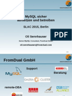 MySQL Security SLAC 2015
