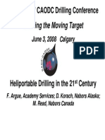 Heliportable Drilling in the 21st Century[1]