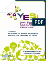 yes 2015 programme