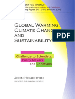 Global Warming, Climate Change and Sustainability