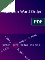 German - Word Order II
