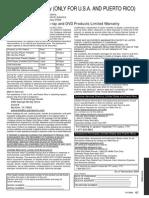2011 Dvd Player Warranty