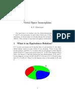 Isomorphic Vector Spaces