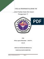 Tugas Etika & Profesionalisme TSI_Task4_29 Juni 2015