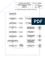 N Quality Management System Planning Section 14