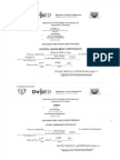 Pantawid Pamilyang Pilipino Program Enrolment Certificate