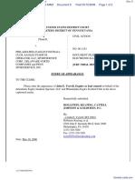 HOFMANN v. PHILADELPHIA EAGLES et al - Document No. 8