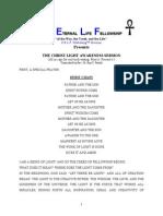 The Christ Light Awareness Sermon
